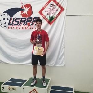 Jordan Renwick - 2019 - Pacific Northwest Regionals - Men's 5.0 Singles – Gold