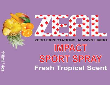 Zeal Impact Sports Spray